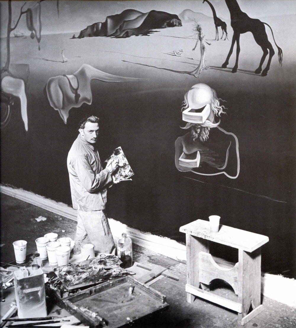 Dalí at Work; Dalí's Dream of Venus (1939 World's Fair, Flushing, NY)