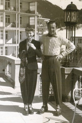 Millicent Rogers together with her husband in Austria.