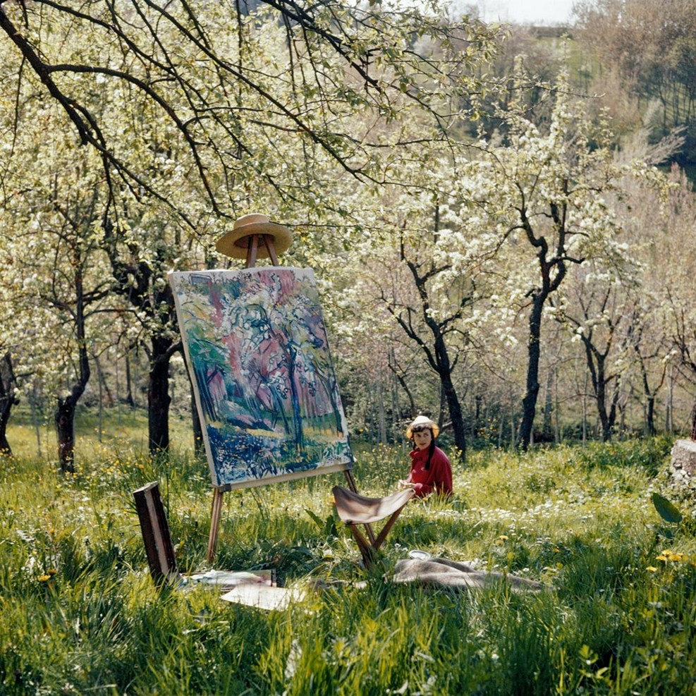 Jacques Henri Lartigue , Florette, Opio, Avril, 1960